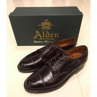 オールデン(Alden)の未使用品 Alden ストレートチップ 2160 6D(ドレス/ビジネス)