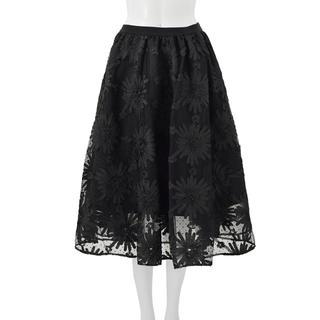 Chesty - チェスティ☆ チュール刺繍スカート