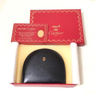 Cartier - カルティエ コインケース 未使用 黒
