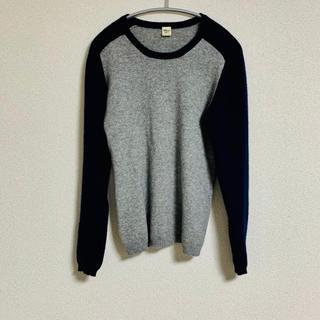 ロンハーマン(Ron Herman)のロンハーマン トレーナー風 カシミア ニットS メンズ セーター(ニット/セーター)