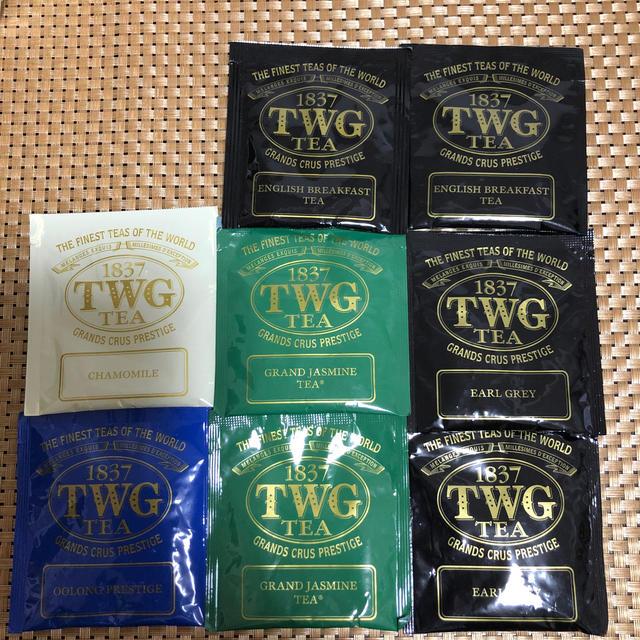 TWG 紅茶 8袋 食品/飲料/酒の飲料(茶)の商品写真