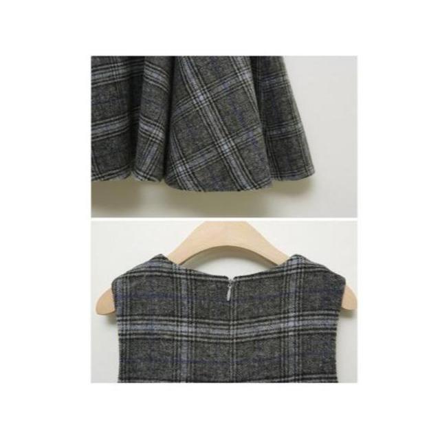 2点セット フォーマル こどもドレス キッズ用 バルーンスカート 長袖 上着 キッズ/ベビー/マタニティのキッズ服 女の子用(90cm~)(ワンピース)の商品写真