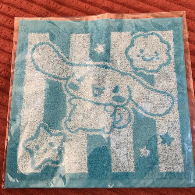 シナモロール(シナモロール)のシナモンロール  非売品タオル エンタメ/ホビーのアニメグッズ(タオル)の商品写真
