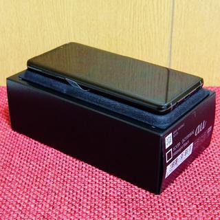 SAMSUNG - 交換後未使用!au Galaxy S9+ブラック/simロック解除済/SCV39