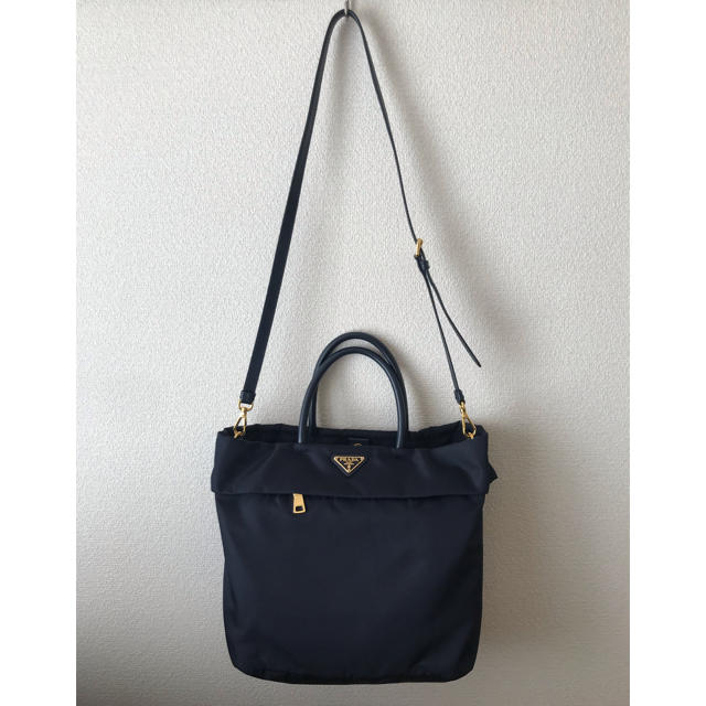 PRADA(プラダ)のプラダ ハンドバッグ 美品 レディースのバッグ(ハンドバッグ)の商品写真