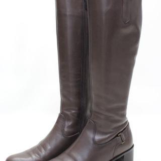 リーガル(REGAL)のREGAL 本革ベルトデザインブーツ(23.5cm)美品(ブーツ)
