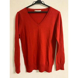マジェスティックレゴン(MAJESTIC LEGON)のMAJESTIC LEGON 真っ赤セーター(ニット/セーター)