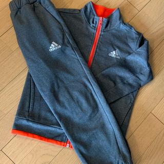 adidas - adidas アディダス ジャージ上下セット グレー&オレンジ