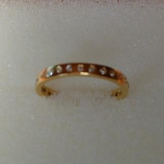 Lilleさま専用k22ダイヤモンドフルエタニティリングインドジュエリー(リング(指輪))