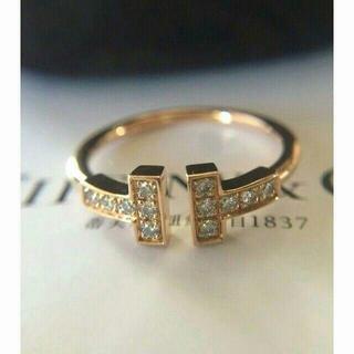 Tiffany & Co. - ティファニー ダイヤ Tワイヤー リング Tiffany & Co. 11