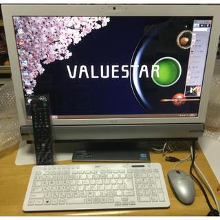 NEC - ★中古・美品!ぱっと觀TV!23インチIPS液晶!NEC VW770/LS6W
