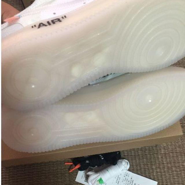 NIKE(ナイキ)の27.5 THE 10 OFF WHITE × NIKE AIR FORCE 1 メンズの靴/シューズ(スニーカー)の商品写真