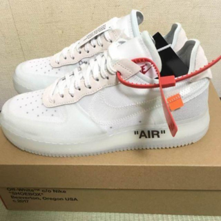 NIKE - 27.5 THE 10 OFF WHITE × NIKE AIR FORCE 1