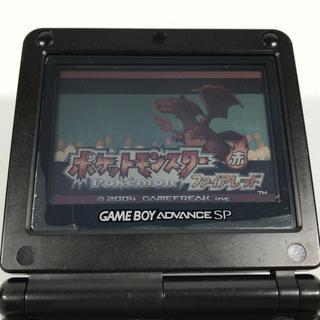 ゲームボーイアドバンス(ゲームボーイアドバンス)のポケットモンスターファイアレッド ゲームボーイアドバンスソフト(携帯用ゲームソフト)