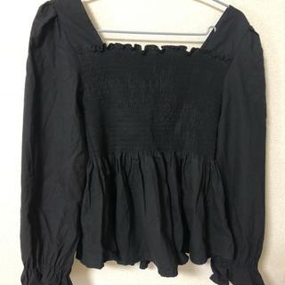 フィフス(fifth)のfifth ペプラム付きトップス(Tシャツ(長袖/七分))
