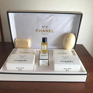 CHANEL - シャネルNo.5  ソープ&オードゥ トワレット5点セット  新品未使用品