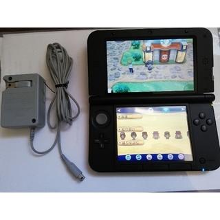ニンテンドー3DS - 【動作確認済】Nintendo 3DS LL ブラック 本体