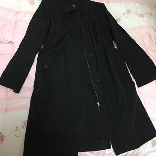 BURBERRY - バーバリー トレンチコート  秋 黒 ジャケット  羽織り コート