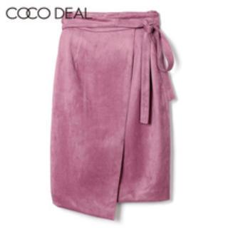 COCO DEAL - 金額相談可能♡ココディール cocodeal ピンク フェイクベロアスカート