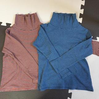 UNIQLO - ユニクロ☆コットンシャツ2枚組120