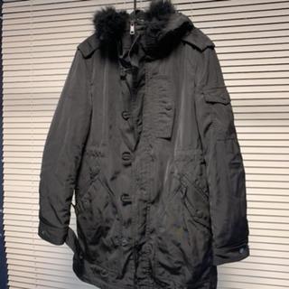 バーバリーブラックレーベル(BURBERRY BLACK LABEL)の美品 バーバリーブラックレーベル N-3B ダウンコート モッズコート(モッズコート)