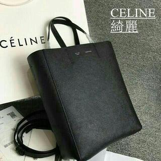 celine - celine ハンドバッグ ショルダーバッグ 両用可能 ブラック