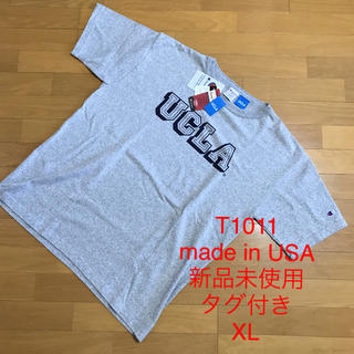 Champion - 【XL】CHAMPION T1011 Made in USA 新品未使用タグ付き