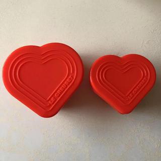 ルクルーゼ(LE CREUSET)のル・クルーゼ ☆シリコンマルチカップオレンジ2個セット(食器)