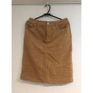 イッカ(ikka)のコーデュロイスカート(ひざ丈スカート)