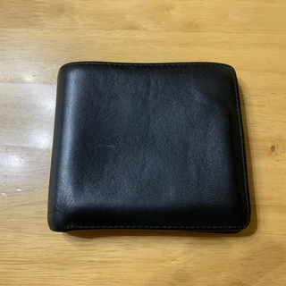 ホワイトハウスコックス(WHITEHOUSE COX)のホワイトハウスコックス S7532 ダービーコレクション 馬革 ブラック タン(折り財布)
