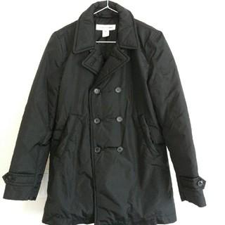 コムデギャルソン(COMME des GARCONS)のCOMME des GARCONS SHIRT ジャケット コート 黒 XS(ピーコート)