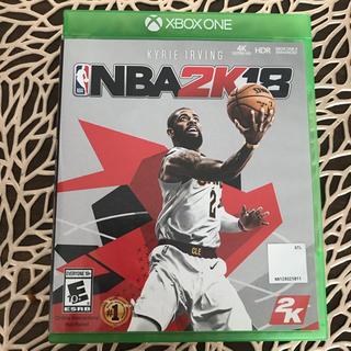 エックスボックス(Xbox)の送料無料 XBOX ONE ソフト NBA 2K18(家庭用ゲームソフト)