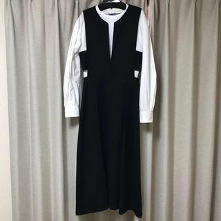 Drawer - シクラス cyclas サロペットスカート 36 Mサイズ ブラック