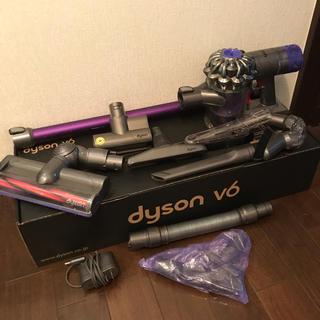 Dyson - ダイソン V6 コードレスクリーナー  ワイドモーターヘッド