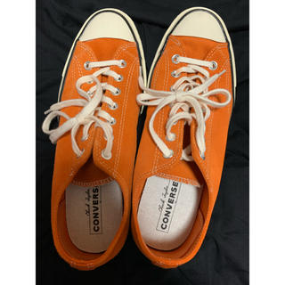 コンバース(CONVERSE)のct70 スウェードオレンジ(スニーカー)