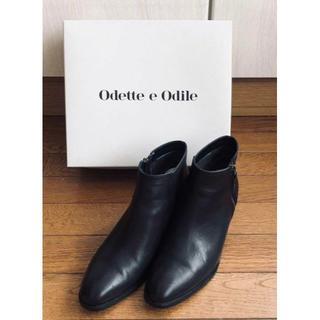 Odette e Odile - Odette e Odileオデット エ オディール ショートブーツ(25cm)
