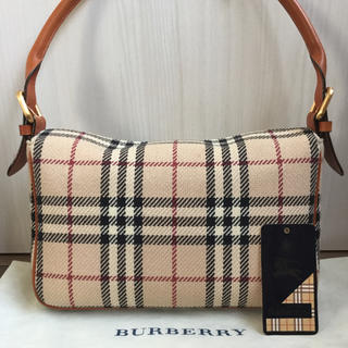 BURBERRY - 極美品♡Burberryバーバリー ノバチェック ハンドバッグ
