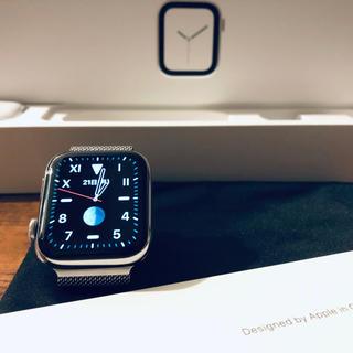 Apple Watch - Apple Watch Series 4 シルバーステンレス