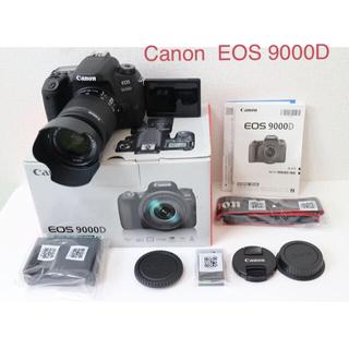 Canon -  Canon  EOS 9000D レンズセット ショット数380回