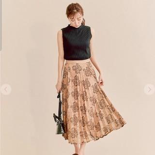 ココディール(COCO DEAL)のコードレーススカート(ひざ丈スカート)