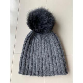 ドゥーズィエムクラス(DEUXIEME CLASSE)のフォックス ニット帽(ニット帽/ビーニー)