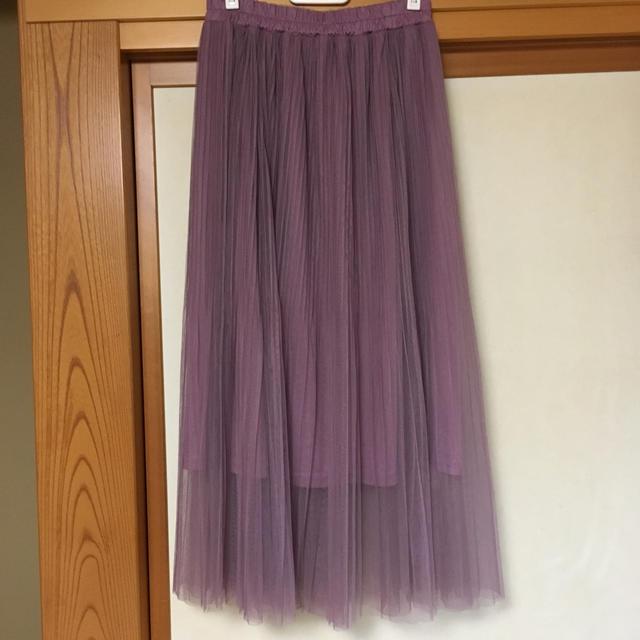 しまむら(シマムラ)のしまむら チュールスカート レディースのスカート(ロングスカート)の商品写真