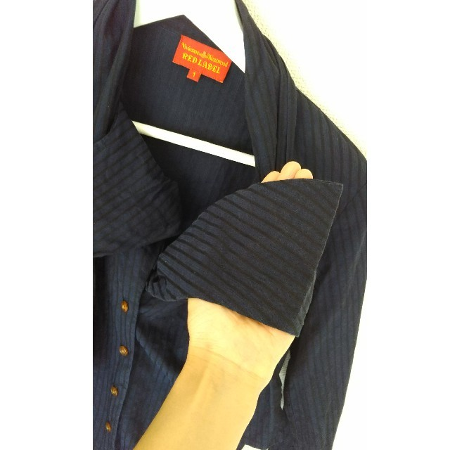 Vivienne Westwood(ヴィヴィアンウエストウッド)のヴィヴィアン リボンブラウス レディースのトップス(シャツ/ブラウス(長袖/七分))の商品写真