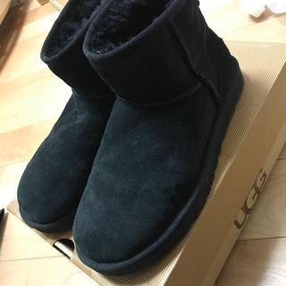 UGG - ugg  ブラック  24.0  美品
