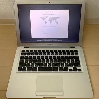 マック(MAC)のMacBook Air mid2009 充電器付き(ノートPC)
