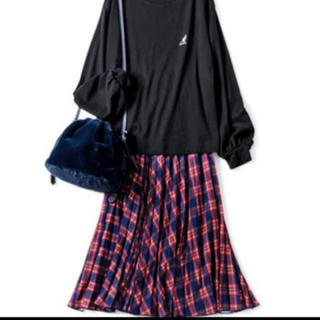 ココディール(COCO DEAL)のチェックスカート(ロングスカート)