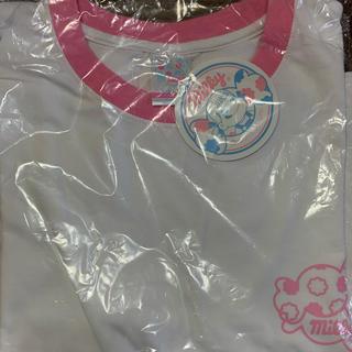 フジヤ(不二家)の袖ワッペン付きペコちゃんTシャツ(Tシャツ(半袖/袖なし))