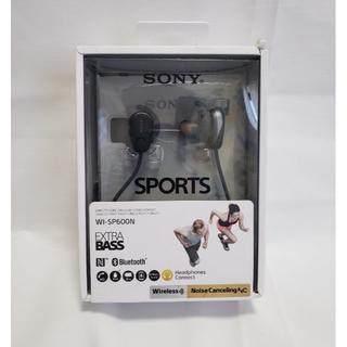 SONY - 新品【工場再生品】SONY  WI-SP600N B Bluetoothイヤホン