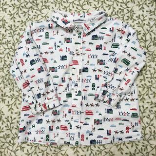 familiar - ファミリア シャツ 80