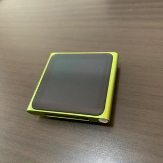アップル(Apple)のiPod nano 第6世代 (ポータブルプレーヤー)